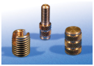 A range of Inserts for Plastics suitable for Heat Staking or Ultrasonic installation.